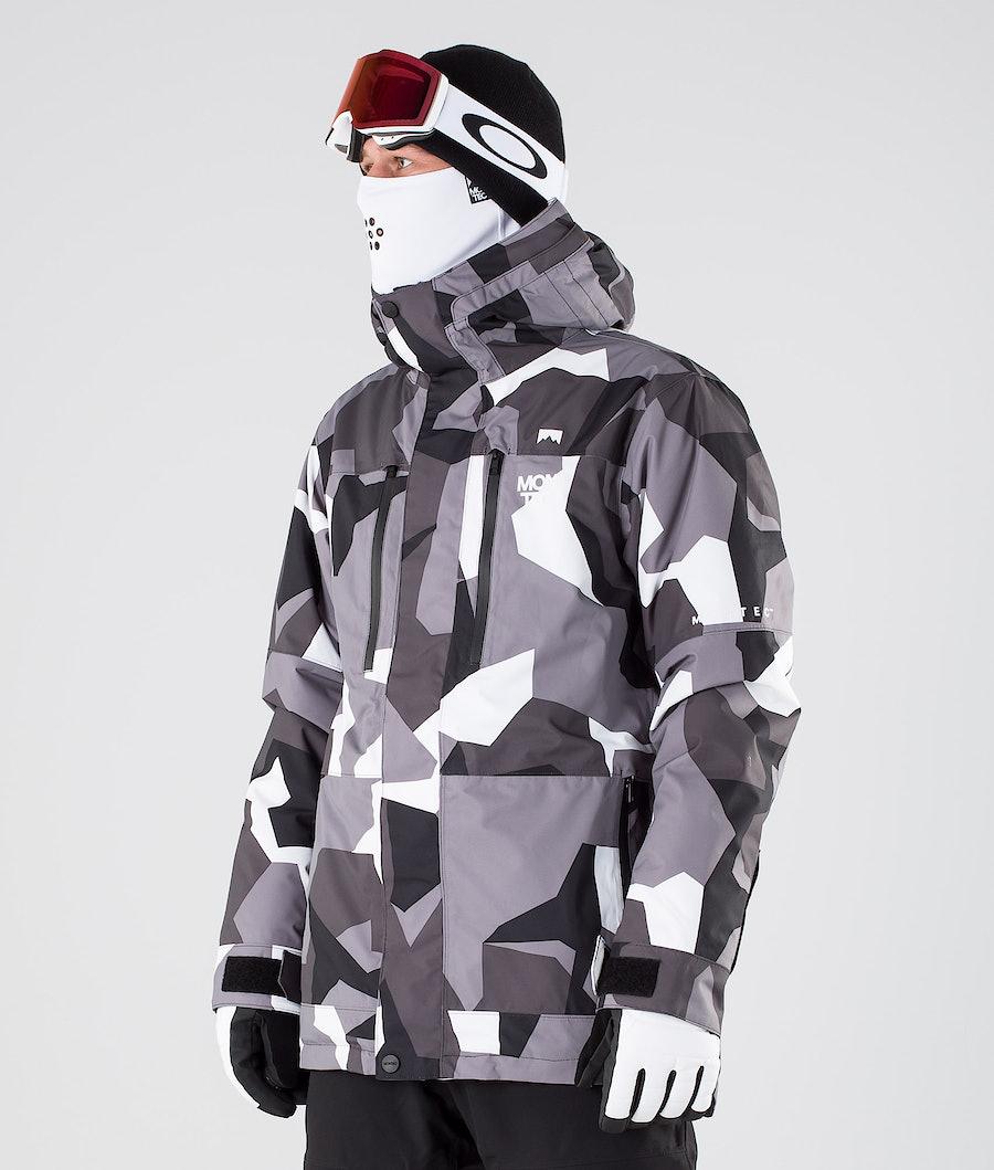 Montec Fawk Snowboardjacke Arctic Camo