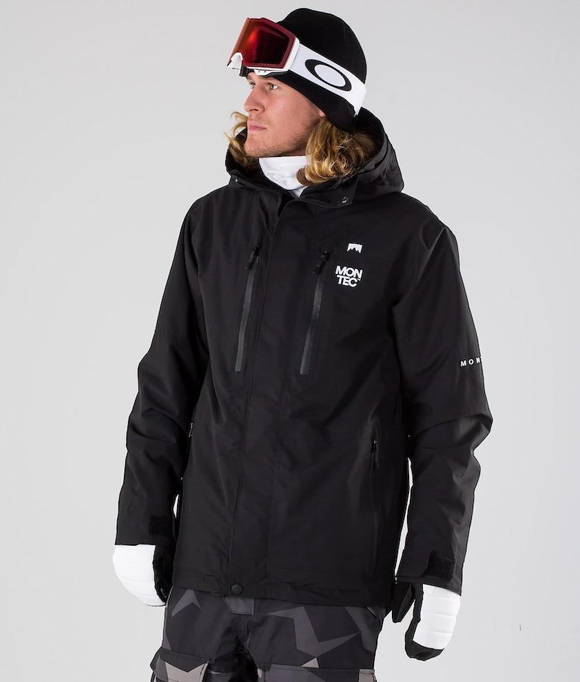Montec Fawk Snowboardjakke Black
