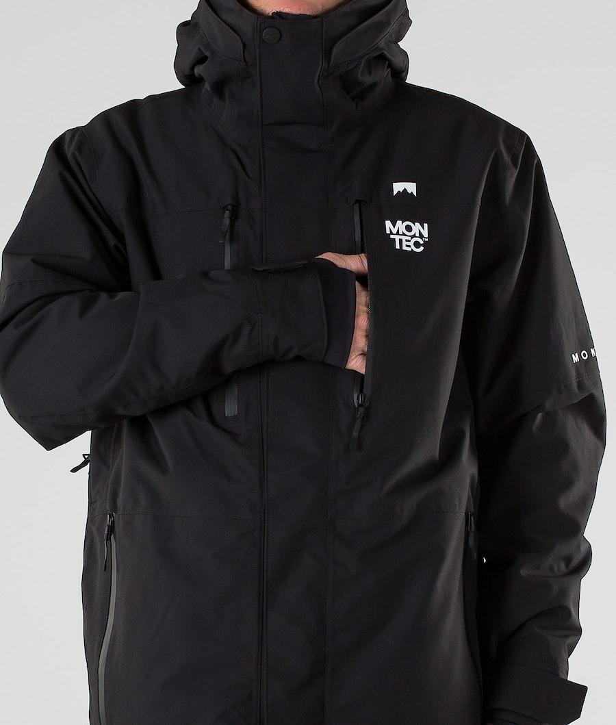 Montec Fawk Snowboardjacke Black