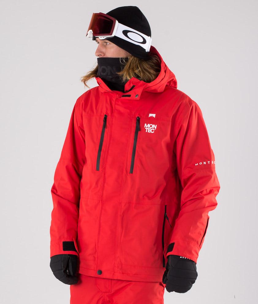 Montec Fawk Snowboardjakke Red