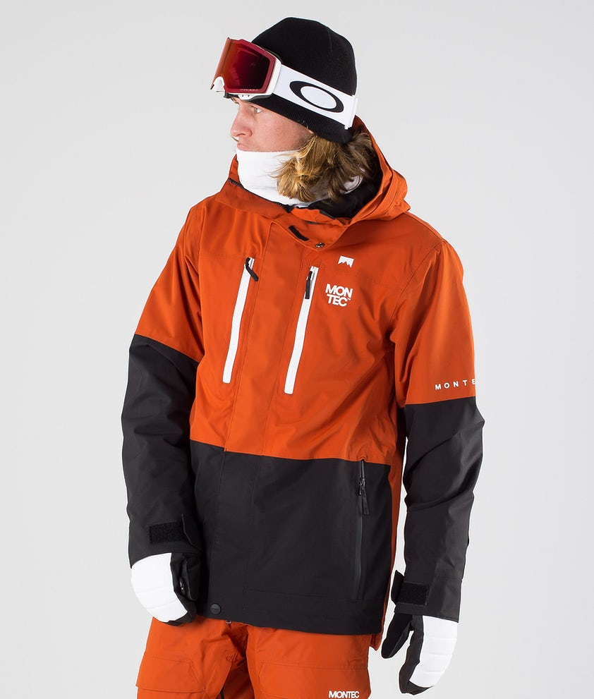 Montec Fawk Snowboard Jacket Clay/Black