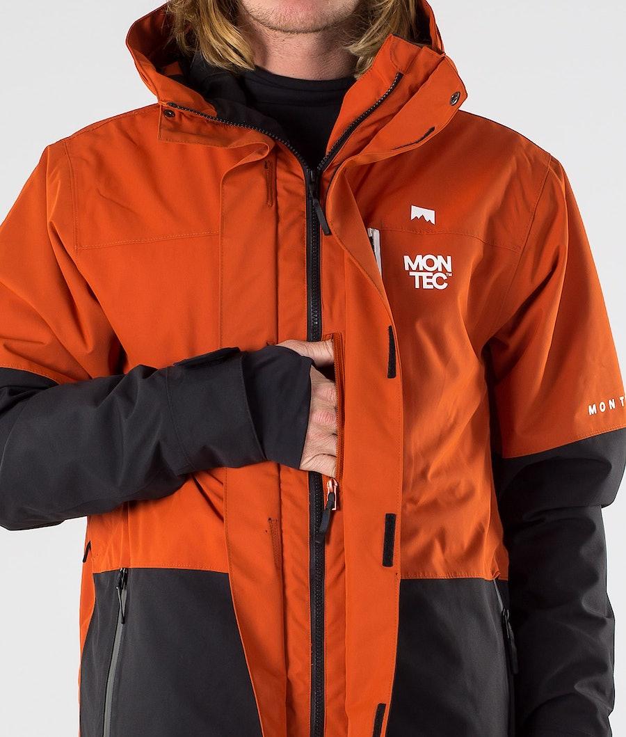 Montec Fawk Snowboardjacke Clay/Black