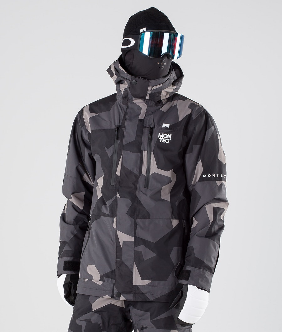 Montec Fawk Snowboard Jacket Night Camo