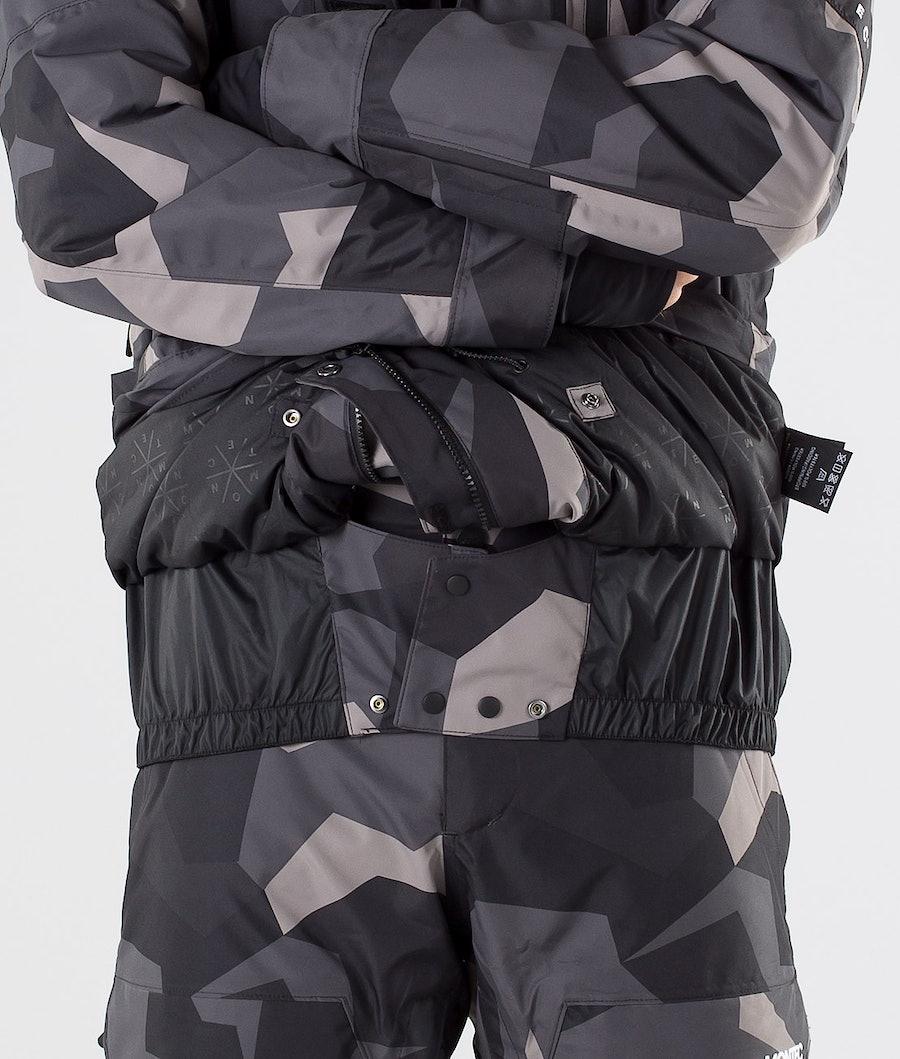 Montec Fawk Snowboard Jacket Night Camo