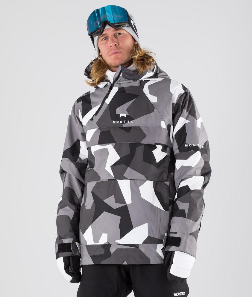 Montec Dune Snowboardjacke Arctic Camo