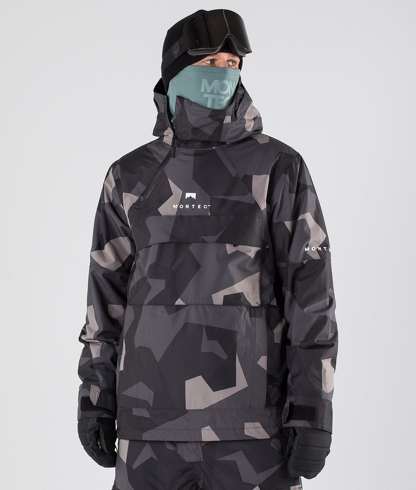 Montec Dune Snowboard Jacket Night Camo