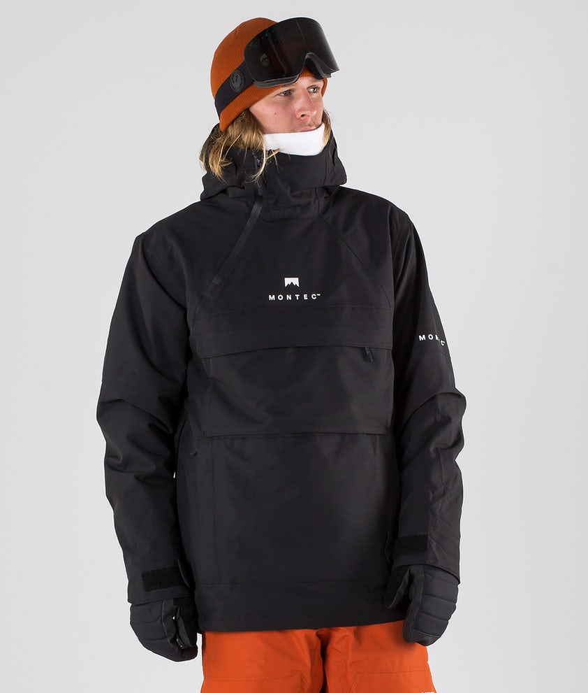 Montec Dune Snowboardjacke Black