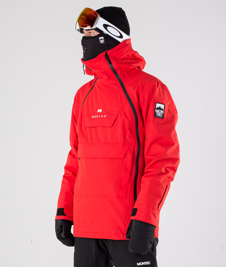 Montec Doom Snowboardjacke Red