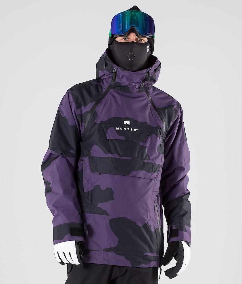 Montec Doom Veste de Snowboard Grape Camo