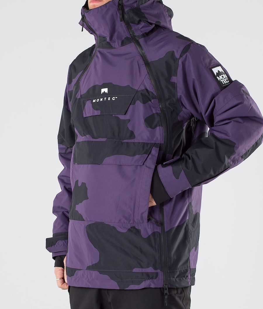 Montec Doom Snowboard Jacket Grape Camo