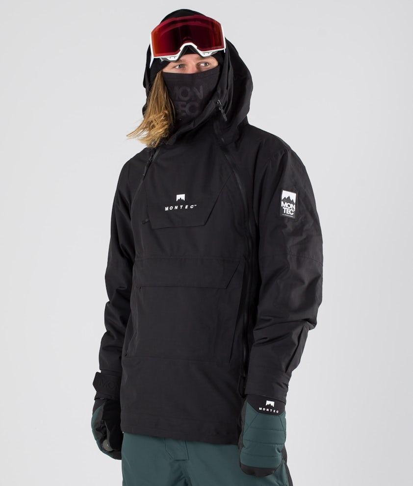 Montec Doom Giacca da snowboard Black