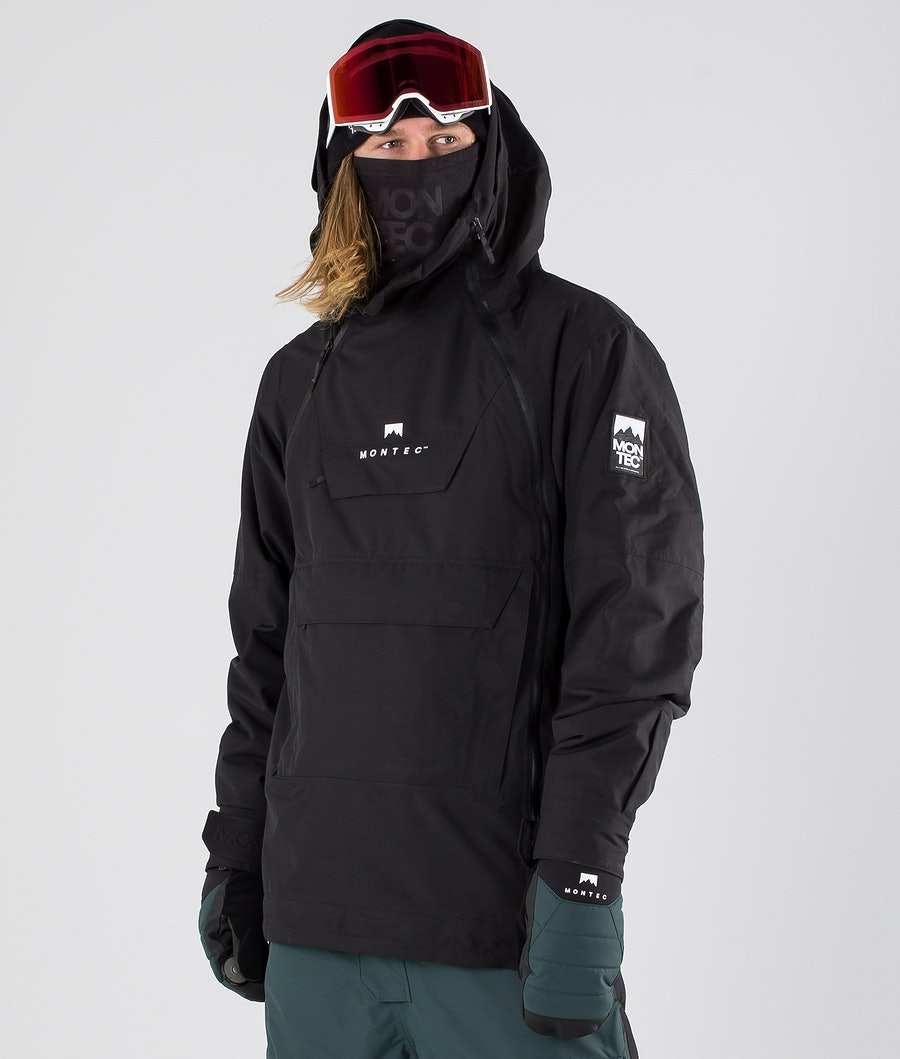 Montec Doom Snowboard Jacket Black