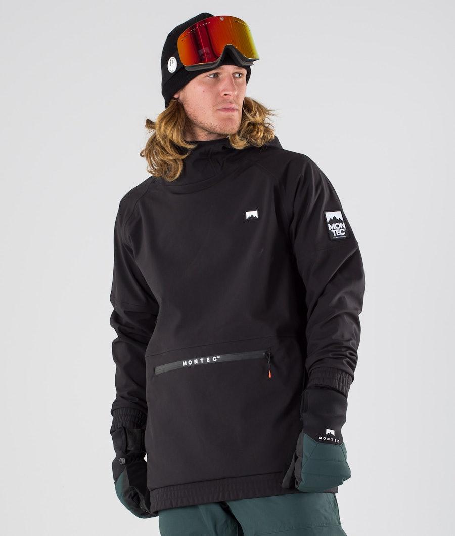 Montec Tempest Giacca da Snowboard Black