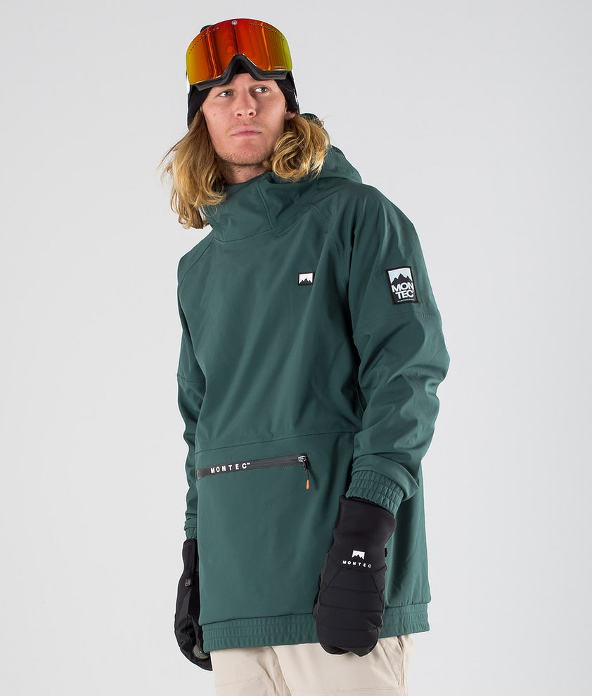 Montec Tempest Snowboard Jacket Dark Atlantic