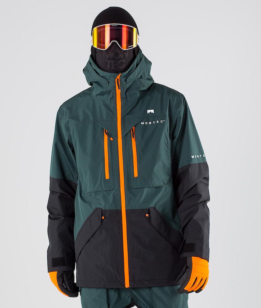 Montec Fenix Snowboardjakke Dark Atlantic Black