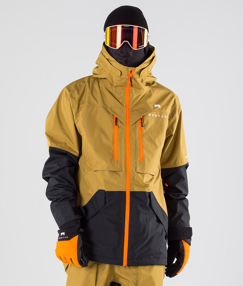 Montec Fenix Snowboardjakke Gold/Black