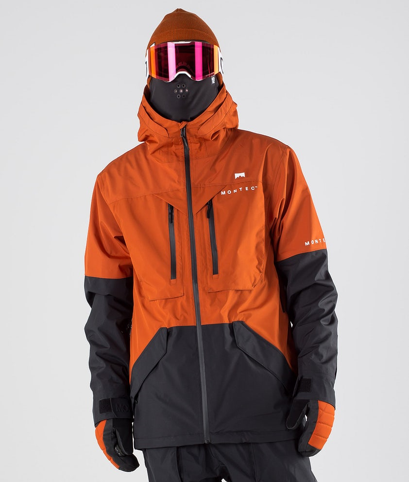 Montec Fenix Snowboard Jacket Clay/Black
