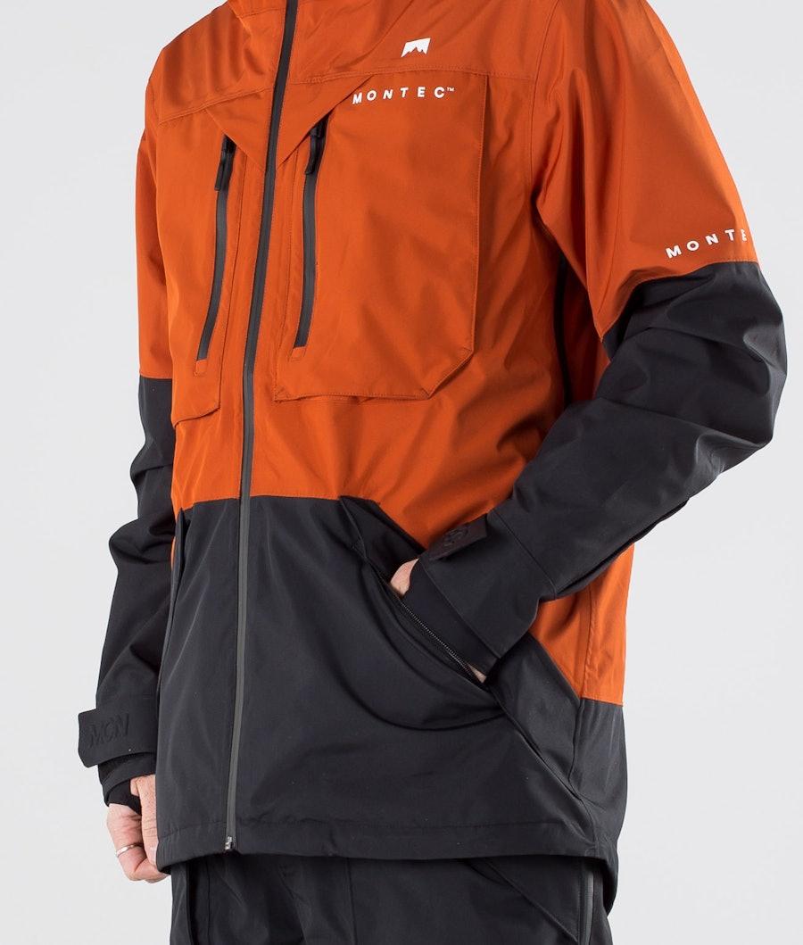 Montec Fenix Snowboardjacka Clay/Black