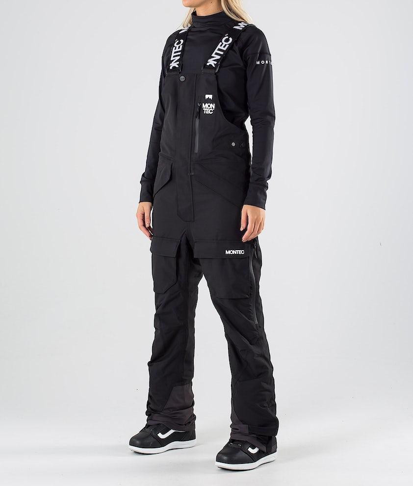 Montec Fawk W Pantalon de Snowboard Black