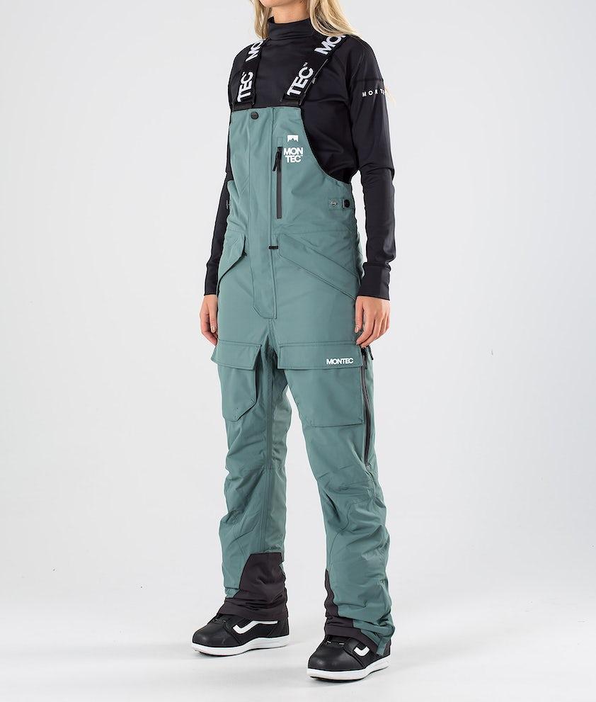 Montec Fawk W Pantaloni da snowboard Atlantic