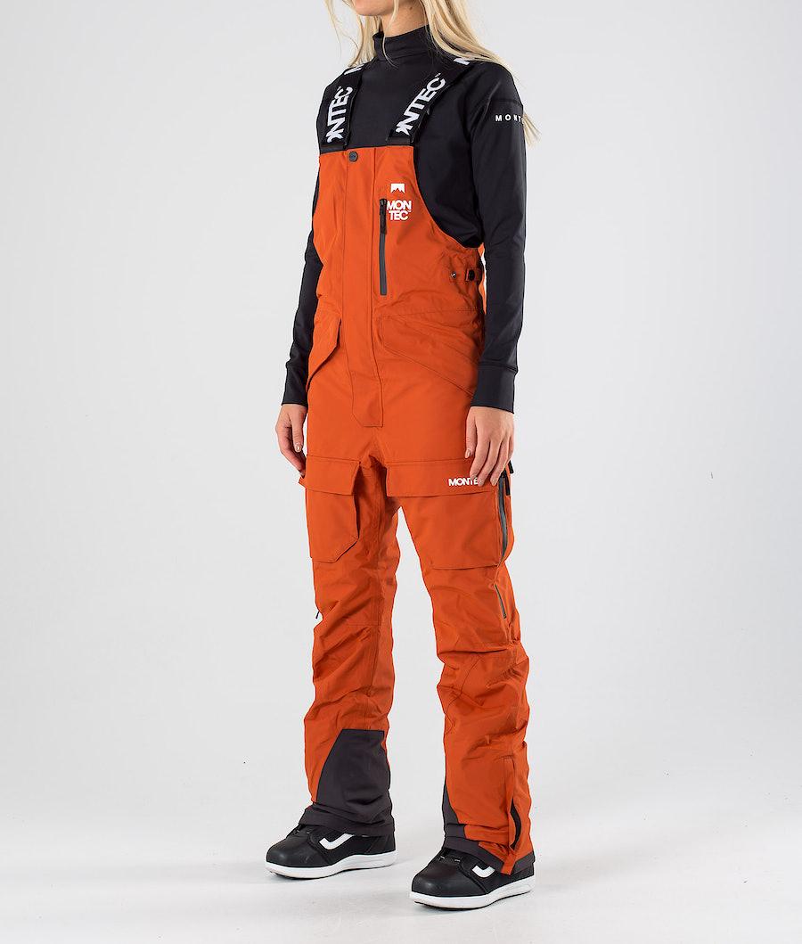 Montec Fawk W Snowboardhose Clay