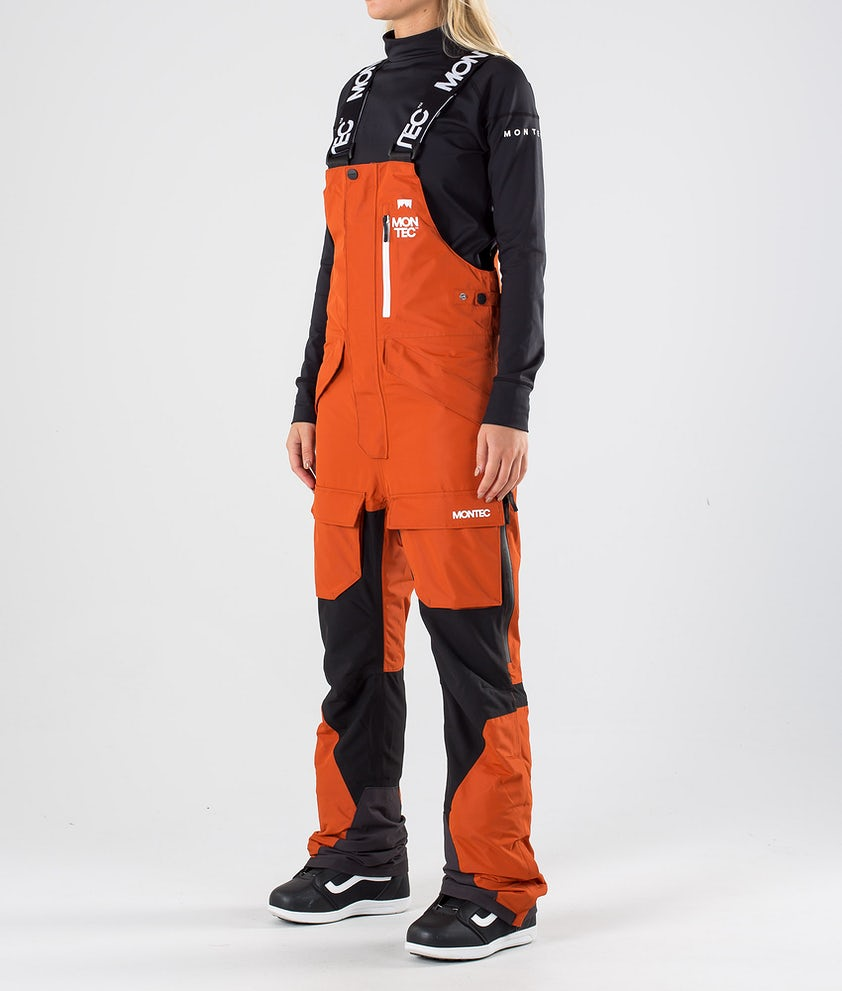 Montec Fawk W Pantaloni da snowboard Clay/Black