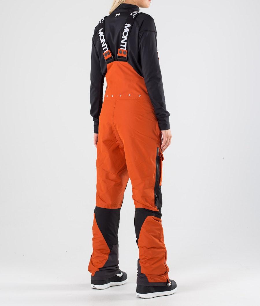 Montec Fawk W Snowboardbukse Dame Clay/Black