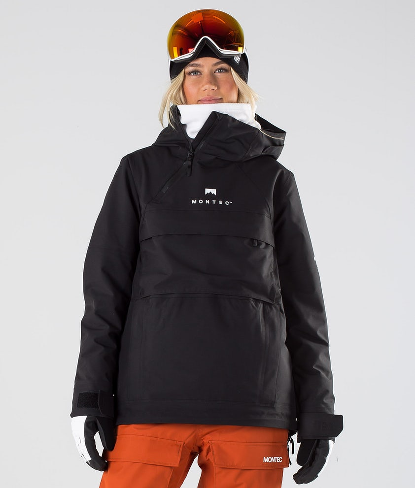 Montec Dune W Snowboardjakke Black