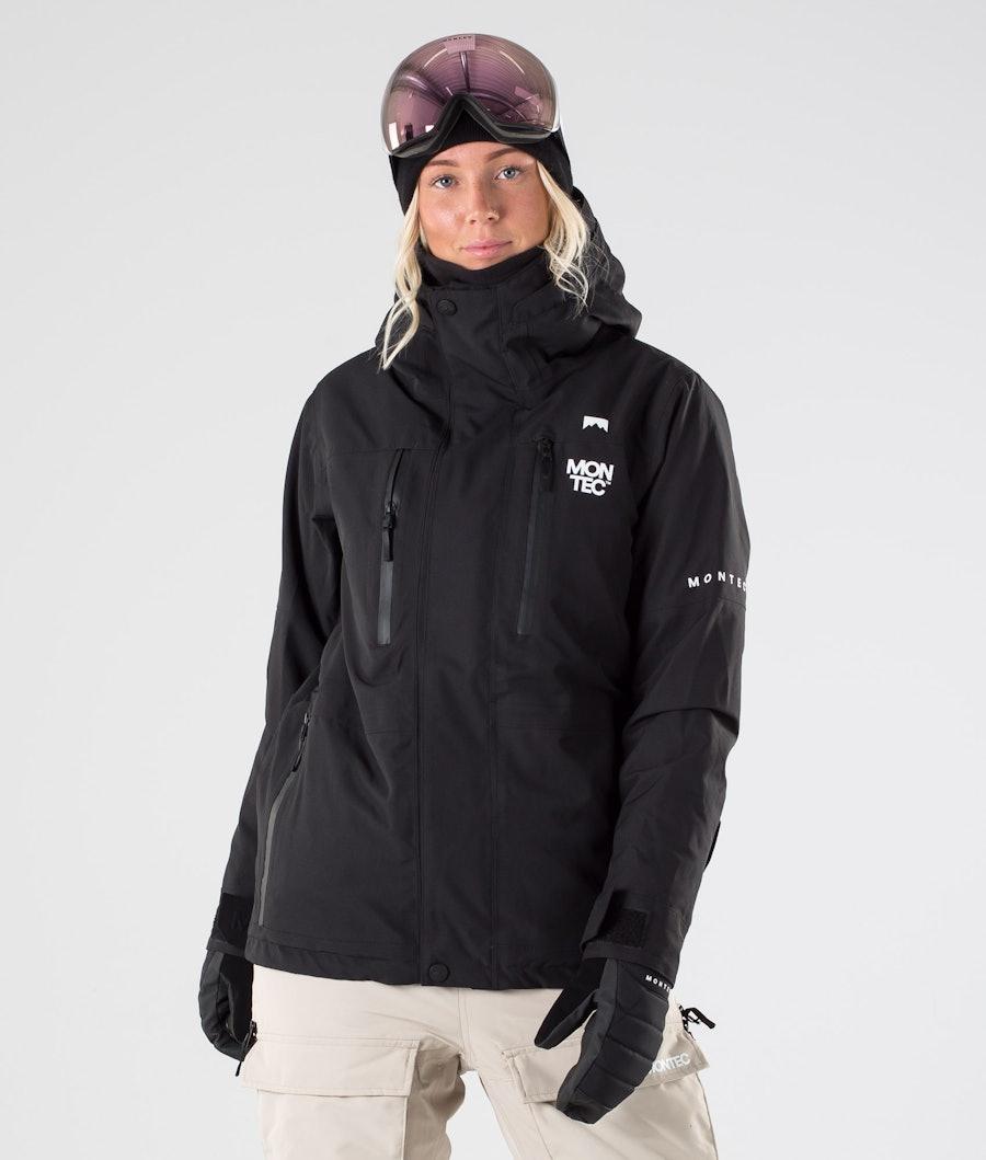 Montec Fawk W Snowboard Jacket Black