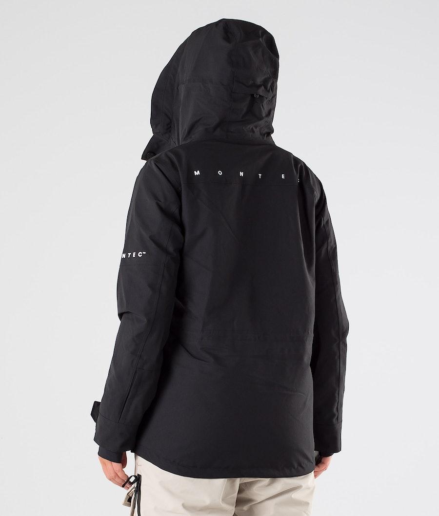 Montec Fawk W Veste de Snowboard Femme Black