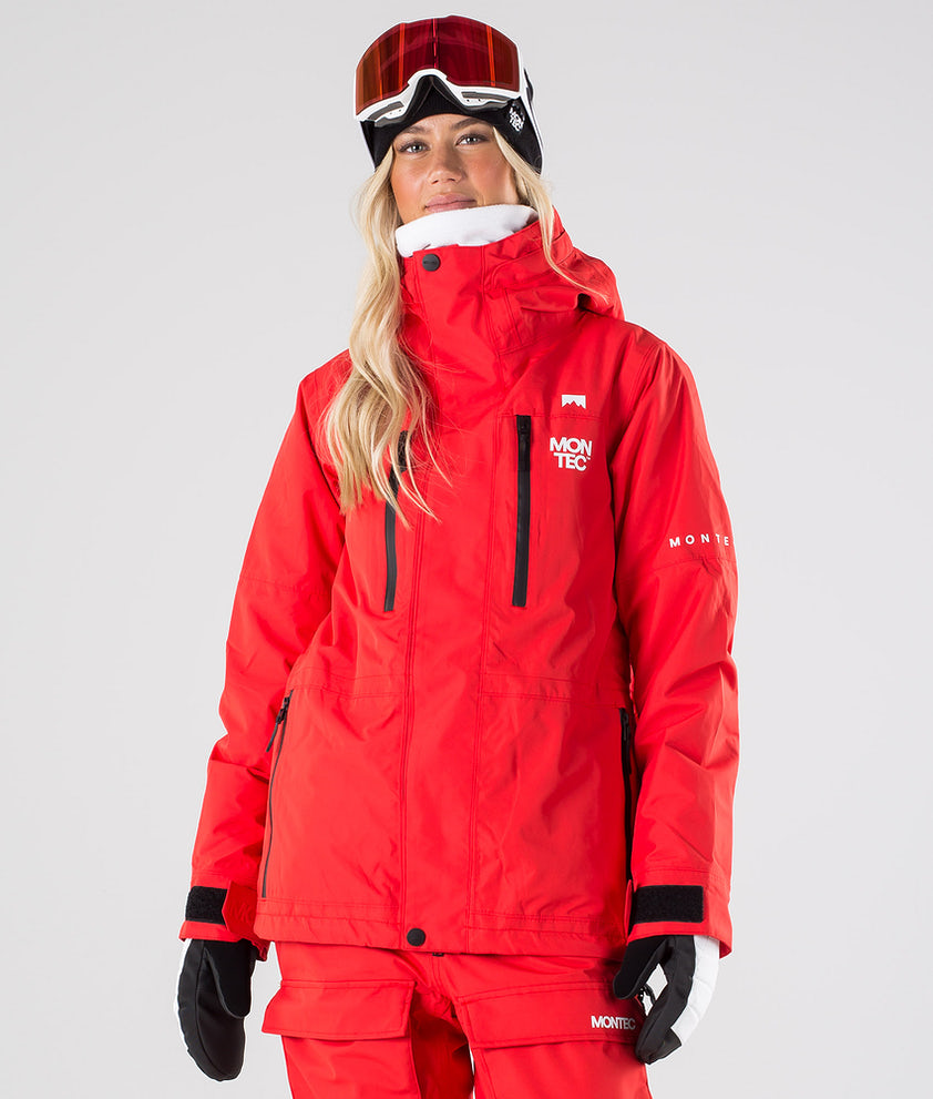 Montec Fawk W Snowboard Jacket Red