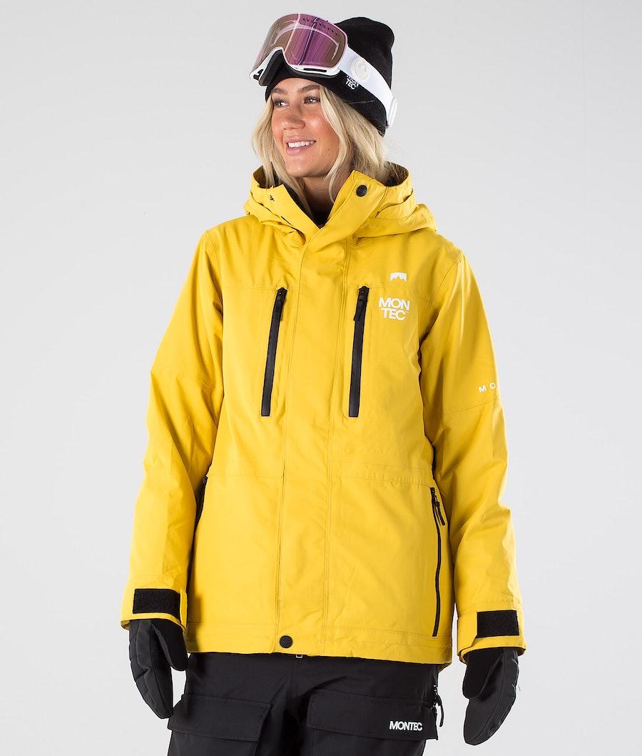 Fawk W Snowboard Jacket Women Yellow