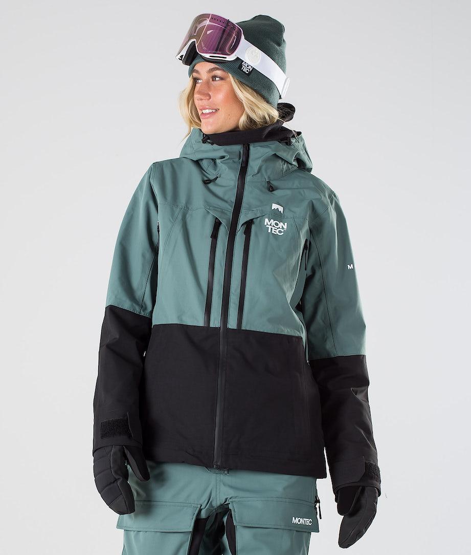 Montec Moss Snowboard Jacket Atlantic/Black