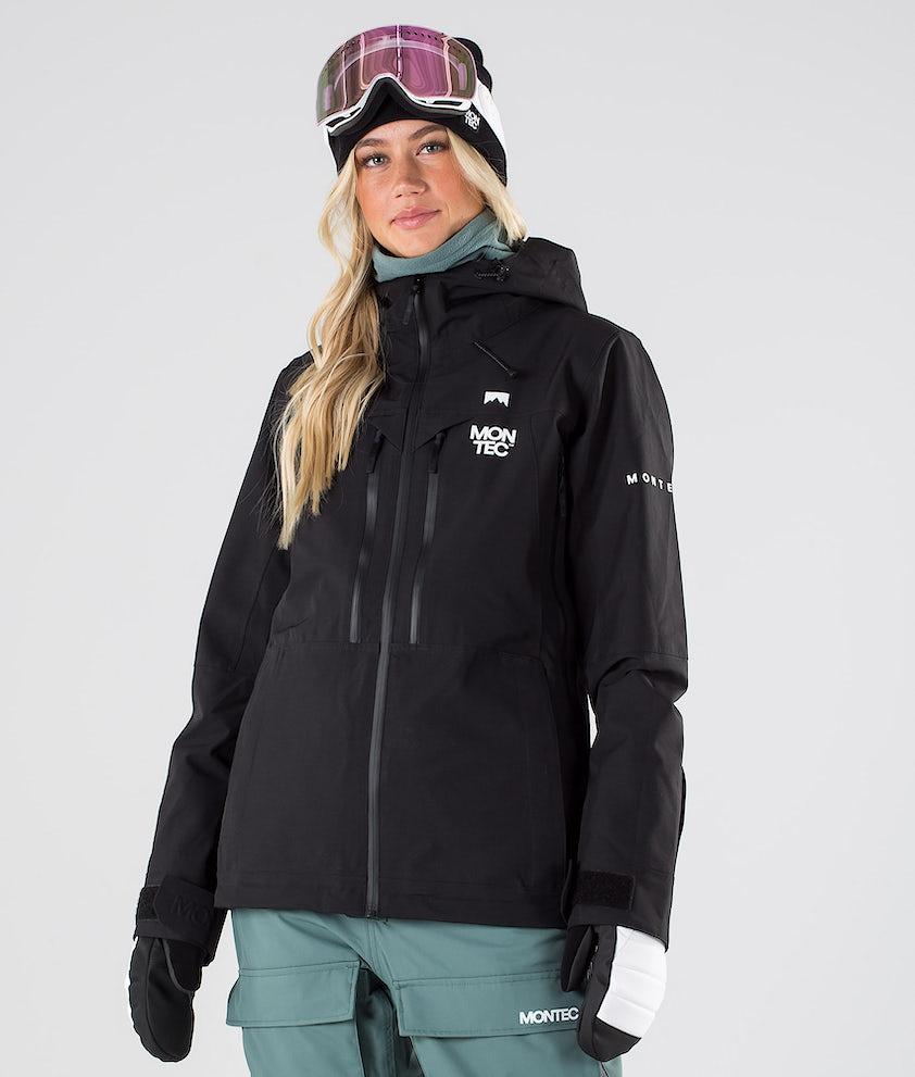 Montec Moss Snowboardjakke Black