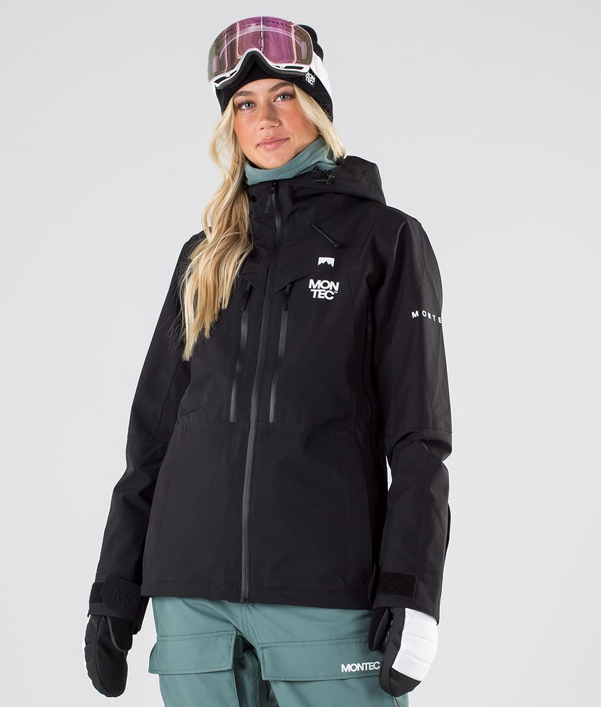 Montec Moss Giacca da Snowboard Black