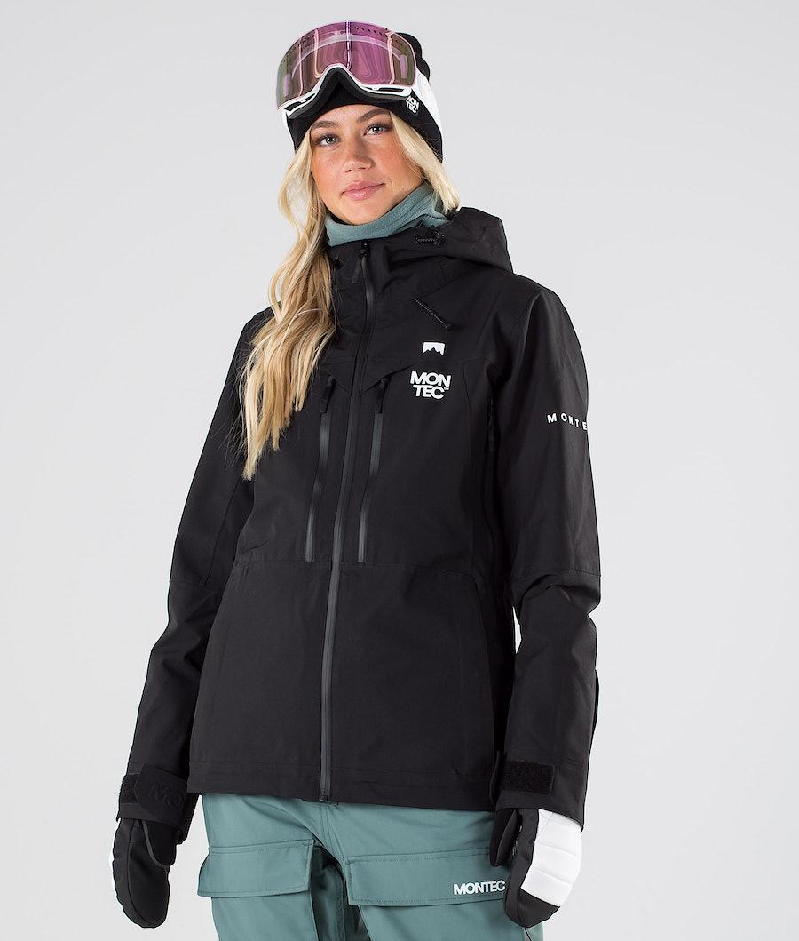 Montec Moss Snowboardjacke Black