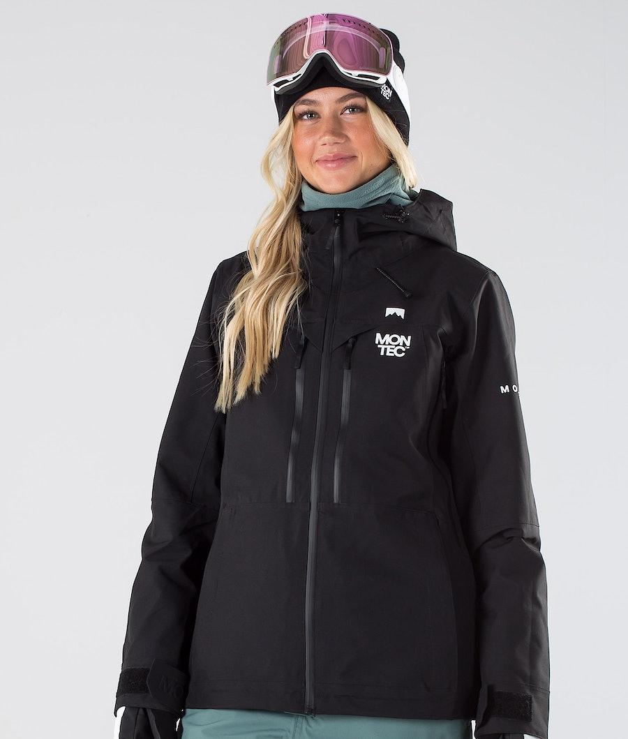 Montec Moss Veste de Snowboard Femme Black