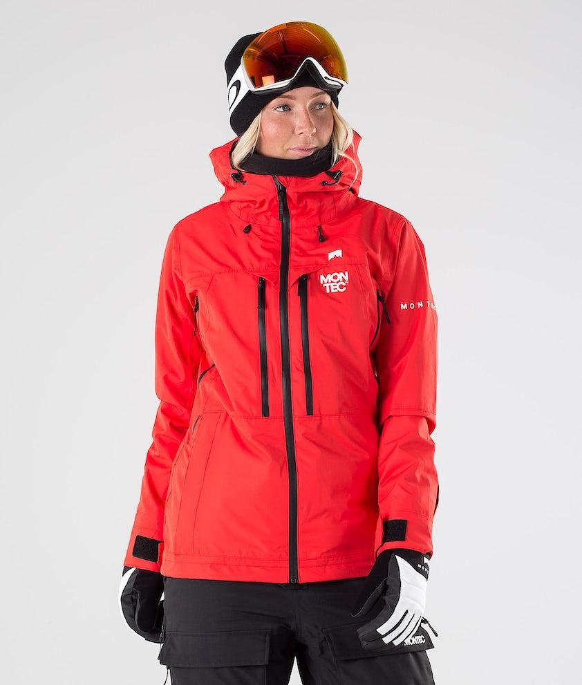 Montec Moss Snowboardjacke Red