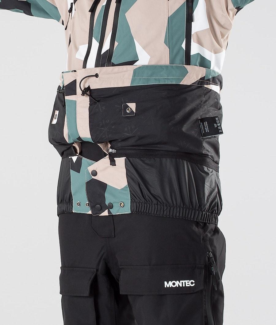 Montec Moss Veste de Snowboard Femme Atlantic Camo