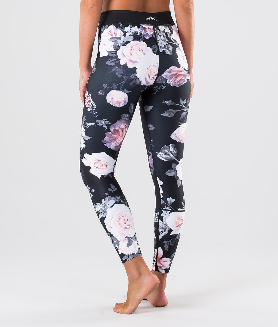 Dope Snuggle OG W Underställsbyxa Dam Pink Flower