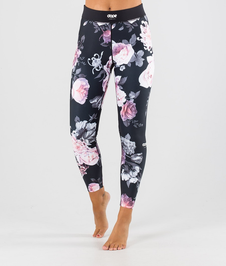 Dope Snuggle OG W Base Layer Pant Pink Flower