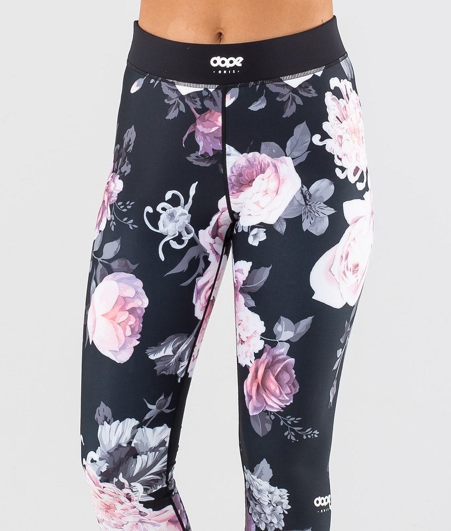 Dope Snuggle OG W Women's Base Layer Pant Pink Flower