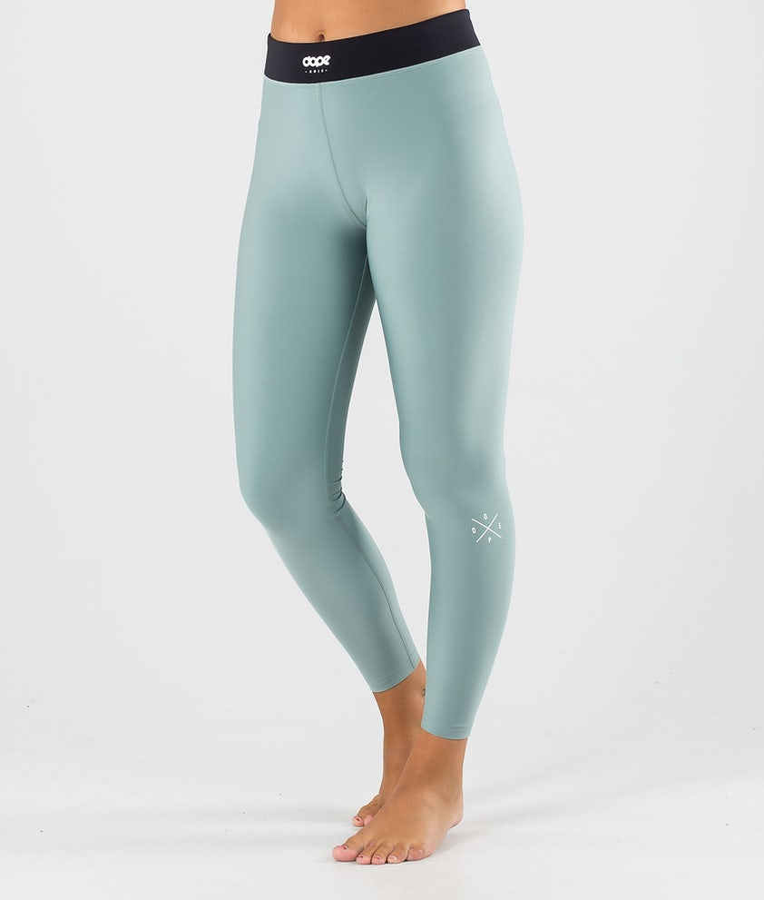 Dope Snuggle 2X-UP W Pantalon thermique Faded Green