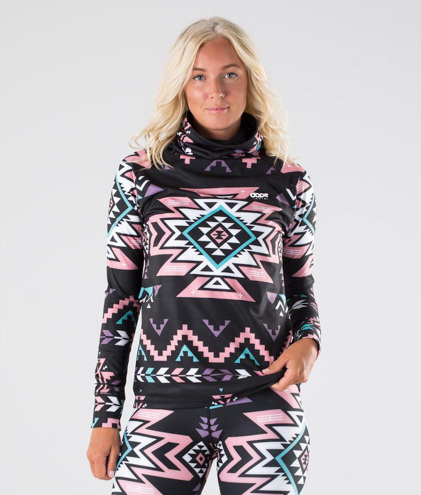 Dope Snuggle OG W Base Layer Top Inka Pink