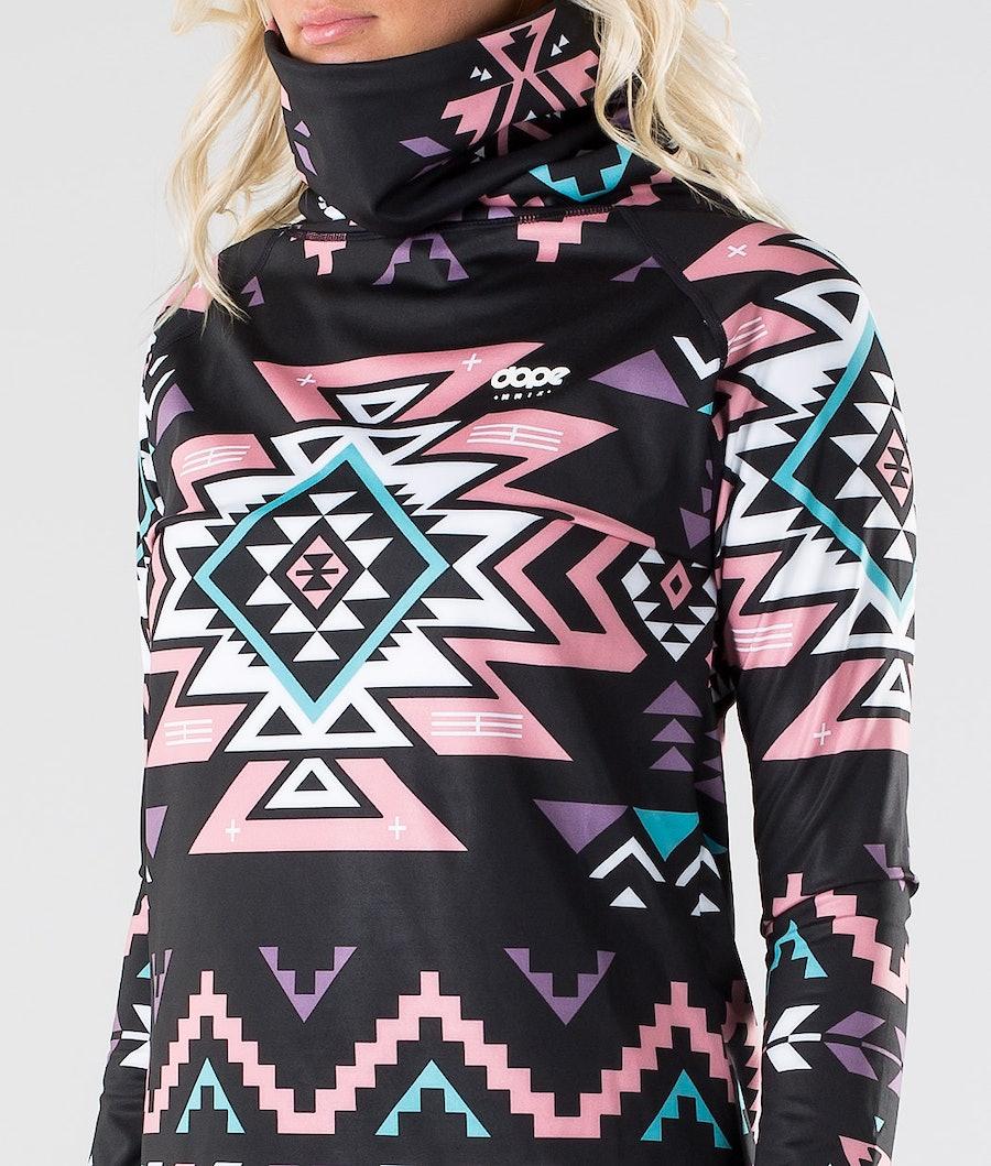 Dope Snuggle OG W Tee-shirt thermique Femme Inka Pink