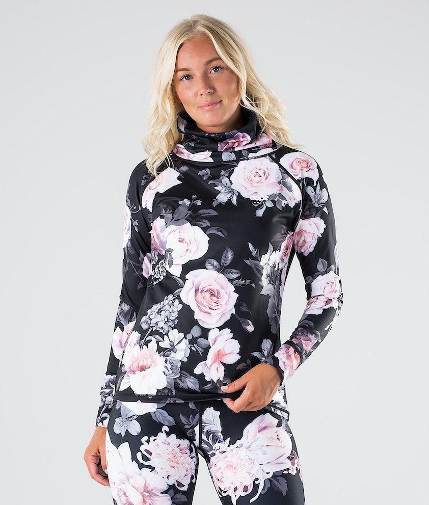 Dope Snuggle OG W Base Layer Top Pink Flower