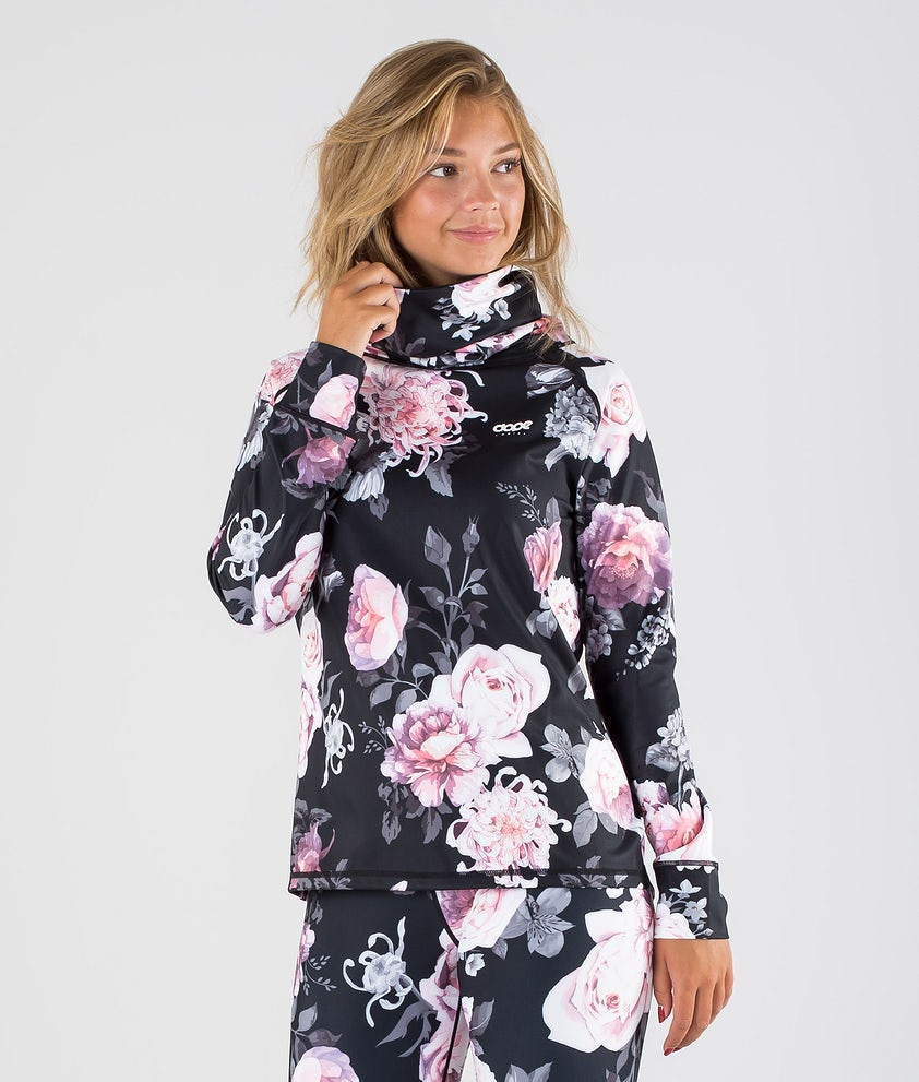 Dope Snuggle OG W Base Layer Top Pink Flower