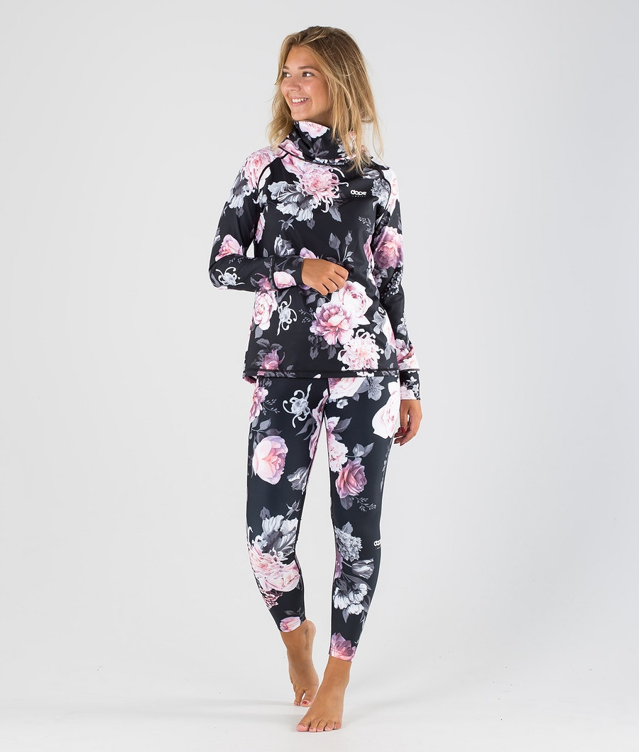 Dope Snuggle OG W Tee-shirt thermique Femme Pink Flower
