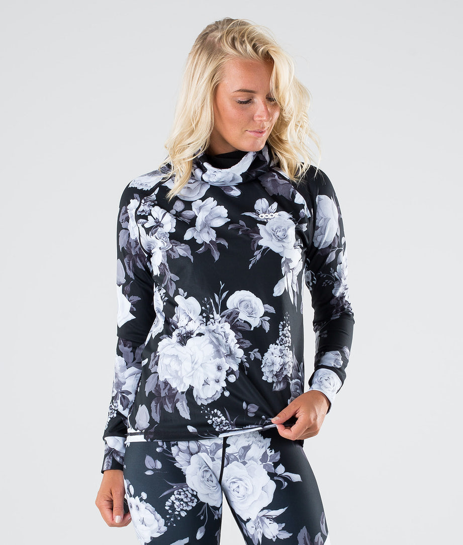 Dope Snuggle OG W Tee-shirt thermique Black Flower