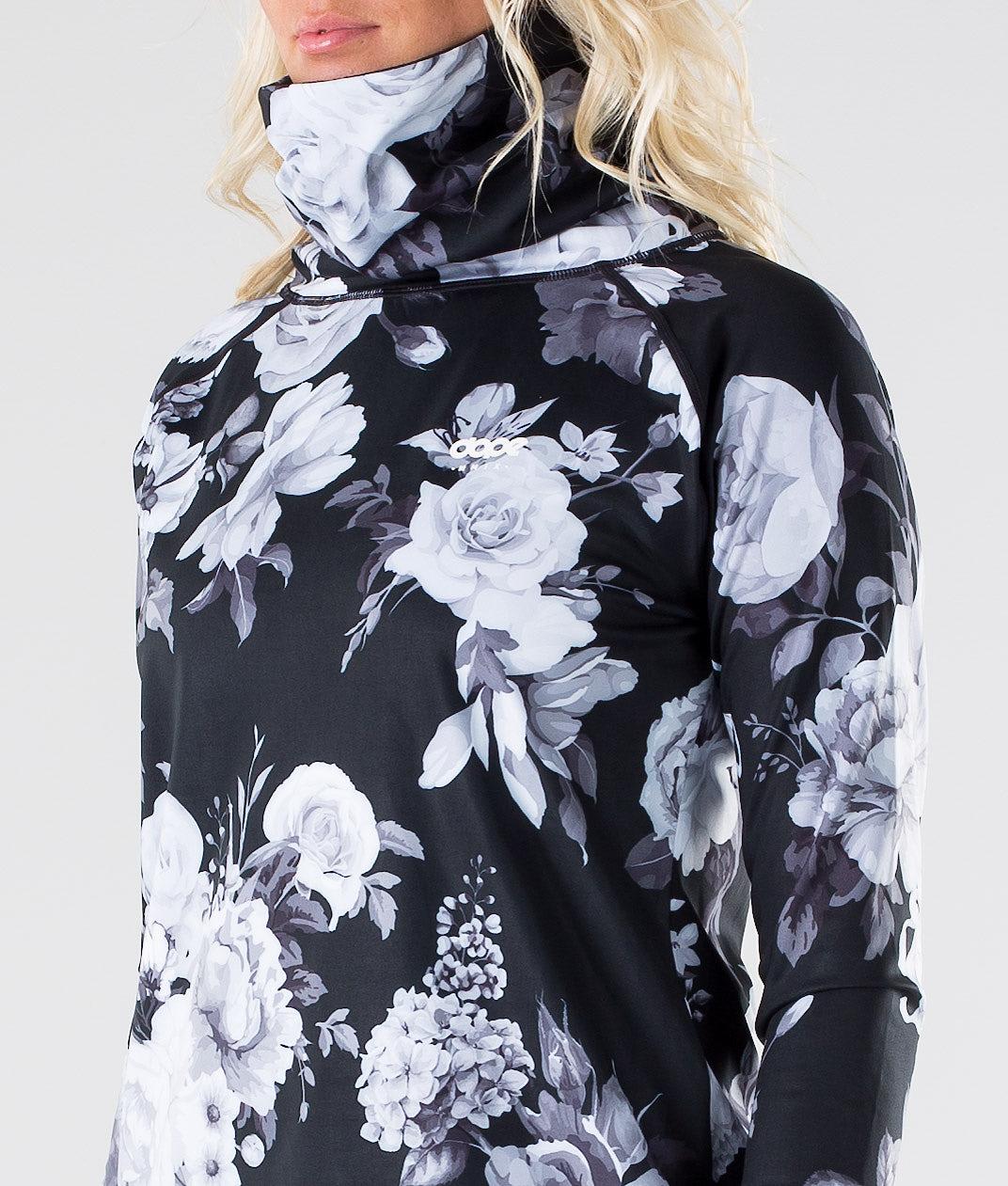 Dope Snuggle OG W Superundertøy overdel Black Flower